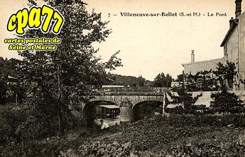 Villeneuve Sur Bellot - Le Pont