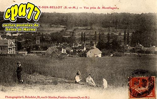 Villeneuve Sur Bellot - Vue prise de Montflageol