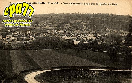 Villeneuve Sur Bellot - Vue d'ensemble prise sur la Route de Geai