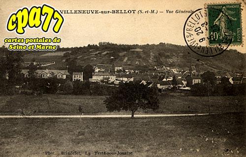 Villeneuve Sur Bellot - Vue générale