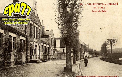Villeneuve Sur Bellot - Route de Bellot