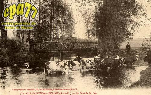 Villeneuve Sur Bellot - Le Pont de la Fée