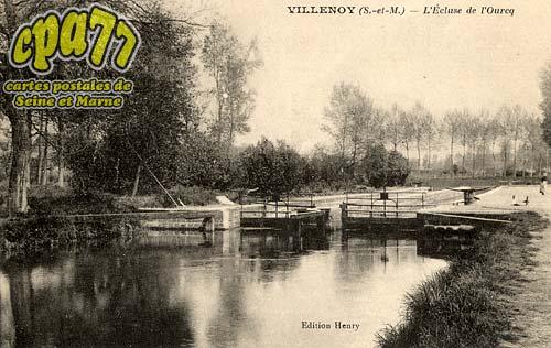 Villenoy - L'écluse de l'Ourcq