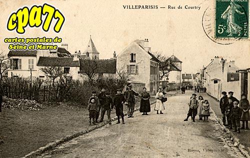Villeparisis - Rue de Courtry