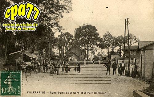 Villeparisis - Rond-Point de la gare et le Petit Robinson
