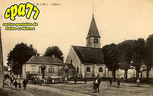 Villeroy - L'Eglise