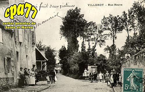 Villeroy - Rue Neuve