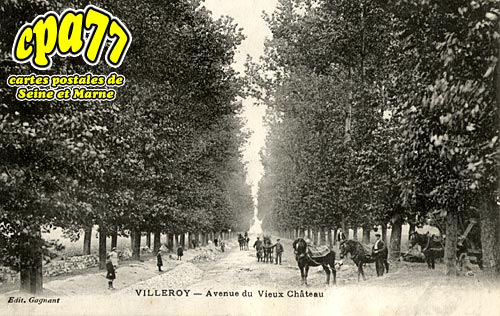 Villeroy - Avenue du Vieux Château