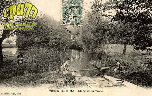 Villeroy - Etang de la Trace