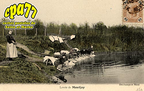 Villevaudé - Lavoir de Montjay