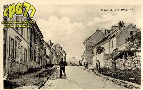 Villevaudé - Entrée de Villevaudé