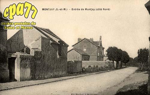 Villevaudé - Entrée de Montjay (côté Nord)