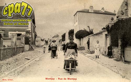 Villevaudé - Rue de Montjay