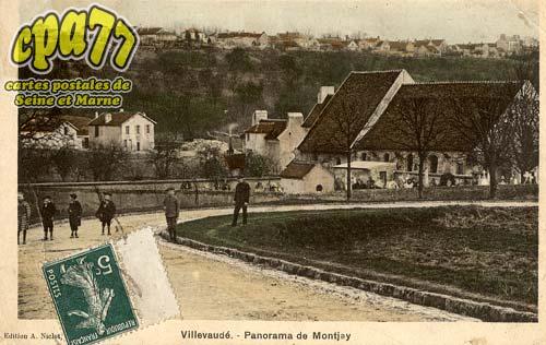 Villevaudé - Panorama de Montjay