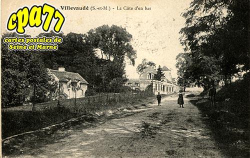 Villevaudé - La Côte d'en bas