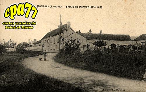 Villevaudé - Entrée de Montjay (côté sud)
