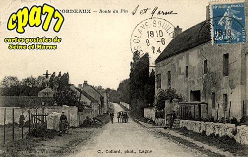 Villevaudé - Bordeaux - Route du Pin