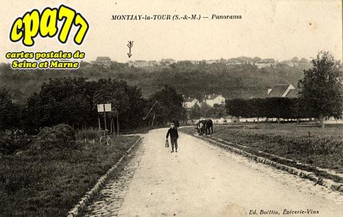 Villevaudé - Montjay-la-Tour - Panorama