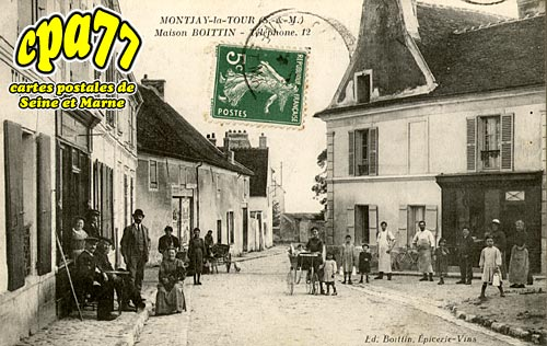 Villevaudé - Maison Boittin