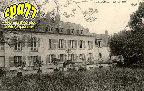 Villevaudé - Bordeaux - Le Château