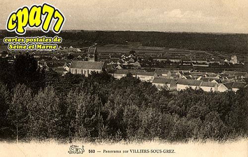 Villiers Sous Grez - Panorama
