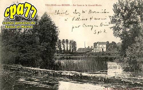 Villiers Sur Morin - La Gare et le Grand Morin