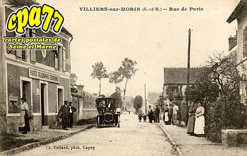 Villiers Sur Morin - Rue de Paris