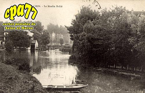 Villiers Sur Morin - Le Moulin brûlé