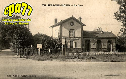 Villiers Sur Morin - La Gare