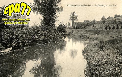 Villiers Sur Morin - Le Morin, vu du Pont