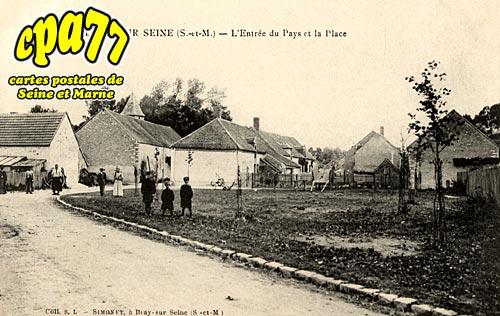 Villiers Sur Seine - L'Entrée du Pays et la Place