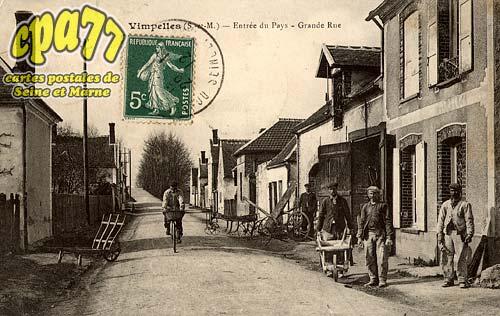 Vimpelles - Entrée du pays - Grande Rue