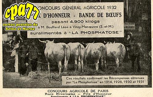 Vincy Manoeuvre - Concours général agricole 1932