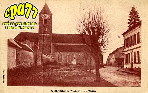 Voinsles - L'Eglise