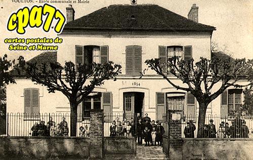 Voulton - Ecole communale et Mairie