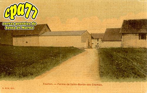 Voulton - Ferme de Saint-Martin-des-Champs