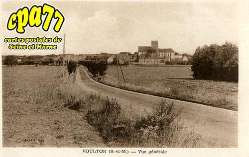 Voulton - Vue générale