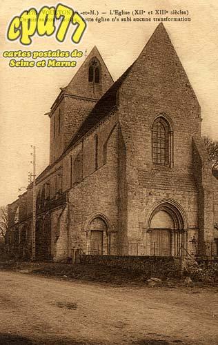 Voulton - L'Eglise (XIIe et XIIIe siècle)
