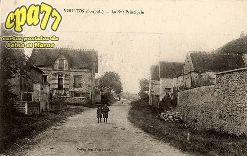 Voulton - La Rue Principale