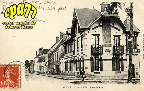 Voulx - Un côté de la Grande-Rue